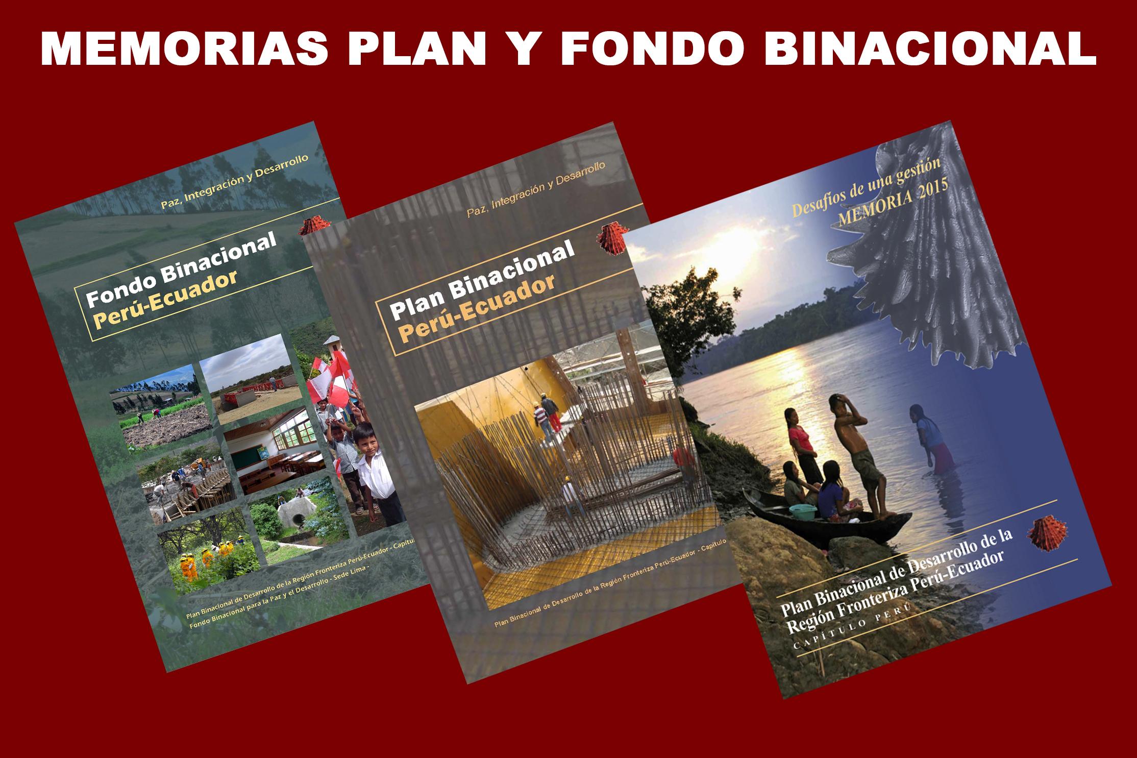 Memorias Plan Binacional