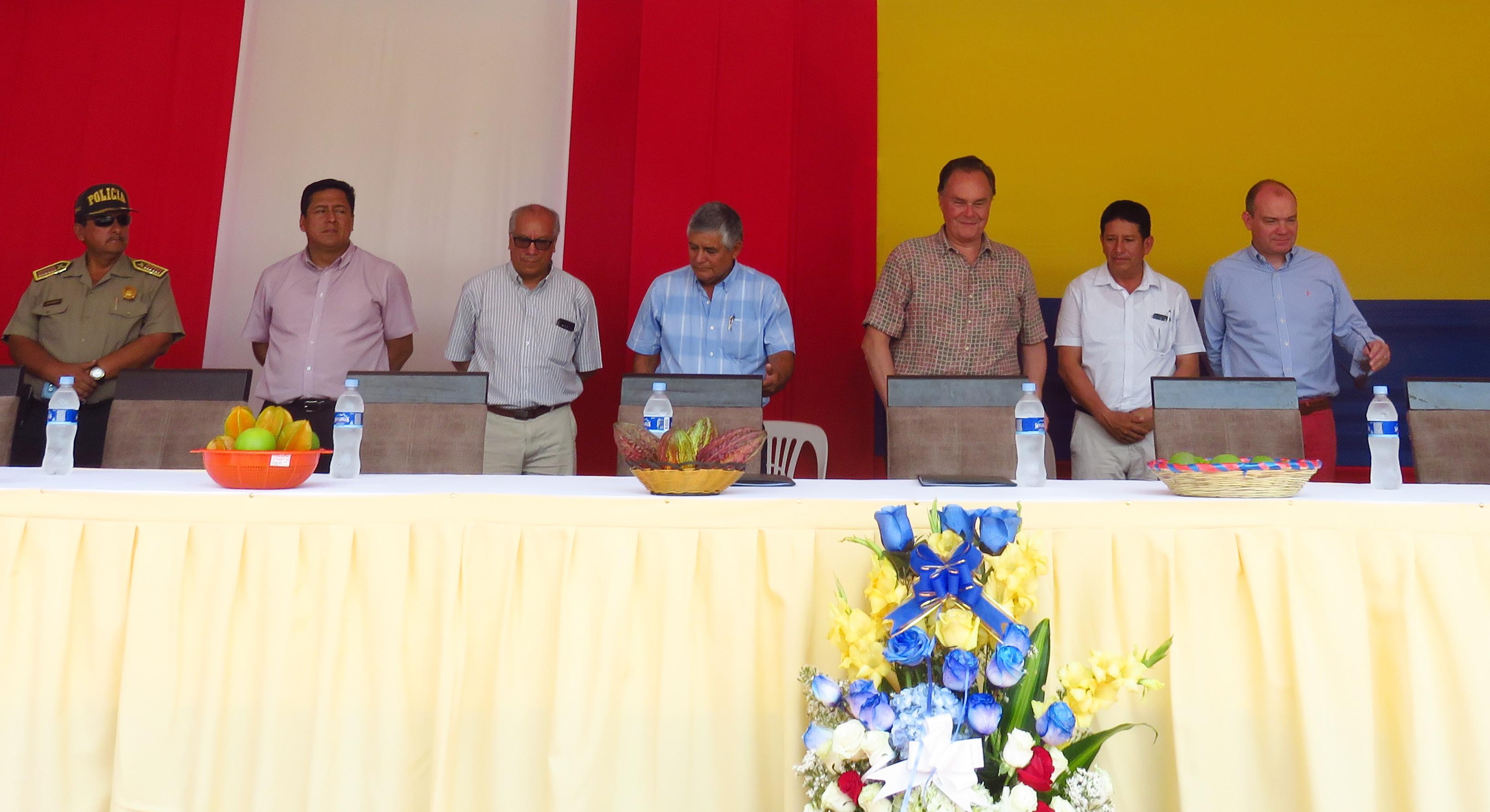 Convenio de Apoyo Interinstitucional: Fondo Binacional Perú – Ecuador, Municipalidad de Distrital de Bellavista y UGEL de Jaén